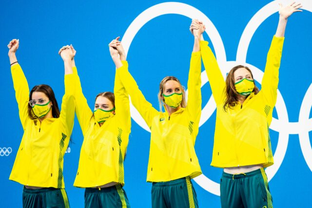 Australia, Great Britain & Canada Benefit From Relay Initiatives In Tokyo
